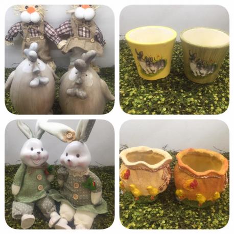 Decoratiuni Paste figurine si vase