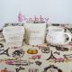 """Vase ceramica Shabby """"Home&Flower"""""""