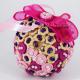 Glob de brad Roz cu Nasturi si Perle