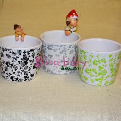 Suport Ceramica cu model floral