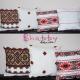 Set doua perne cu Motiv Traditional colorat