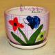 Ghiveci ceramica cu Fori si Fluture Decor