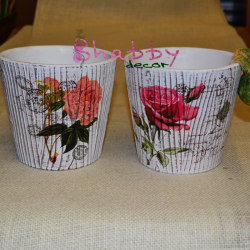 Suport Ghiveci cu model floral